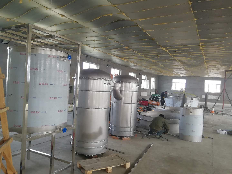 发酵罐安装